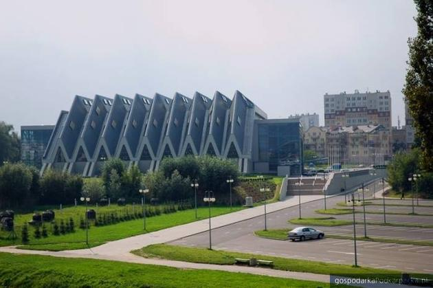 Hala przy ulicy Podpromie może być rozbudowana. Fot. www.hala.rzeszow.pl
