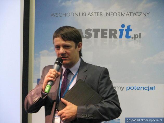 Paweł Podwysocki, prezes Siemens Enterprise Communications. Fot. Adam Cyło