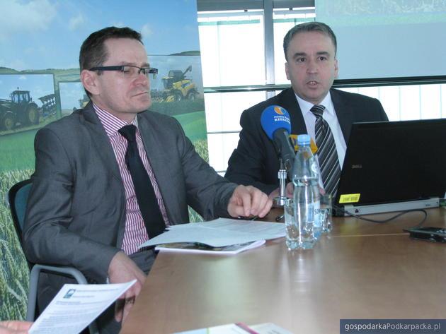 Od lewej wicedyrektor Marek Owsiany i dyrektor Marek Ordyczyński. Fot. Adam Cyło