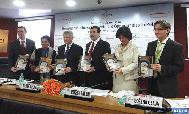 Konferencja w New Delhi. Fot. PAIiZ