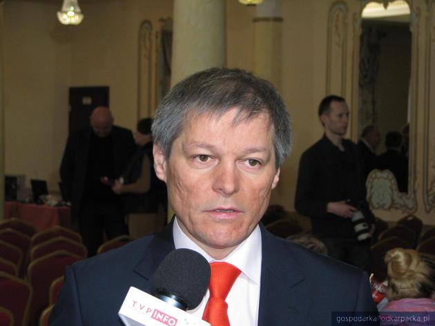 Dacian Ciolos, unijny komisarz rolnictwa. Fot. Adam Cyło