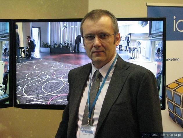 Olgierd Madej, dyrektor Polycom na Polskę, Europę Wschodnią i Kraje Bałtyckie. Fot. Adam Cyło