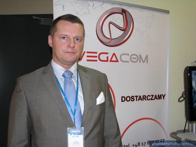 Tomasz Piskadlo, członek zarządu i dyrektor handlowy Vegacom. Fot. Adam Cyło