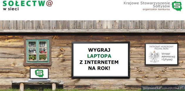 """""""Sołectw@ w sieci"""" – ogólnopolski konkurs na najlepszą wiejską stronę internetową"""