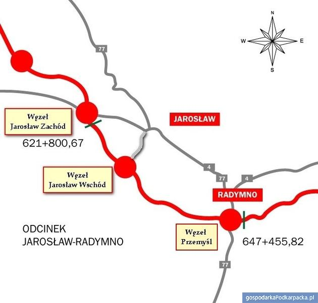 Autostrada A4 Jarosław Zachód – Przemyśl już otwarta