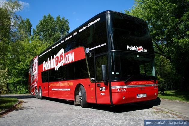 Nowe autobusy Astromega dla PolskiBus.com