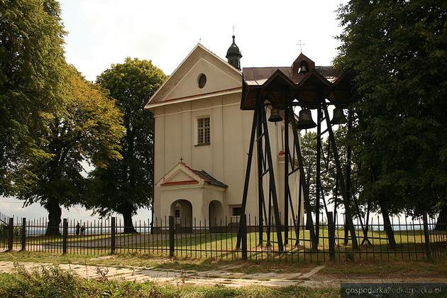 Kościół pw. św. Magdaleny w Malawie, powiat rzeszowski. Fot. Wikipedia