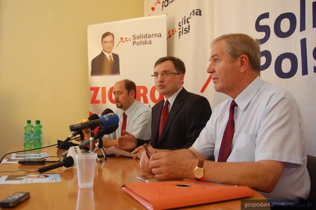 Solidarna Polska w sprawie niskich cen skupu pszenicy i rzepaku