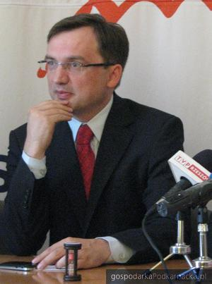 Zbigniew Ziobro. Fot. Adam Cyło