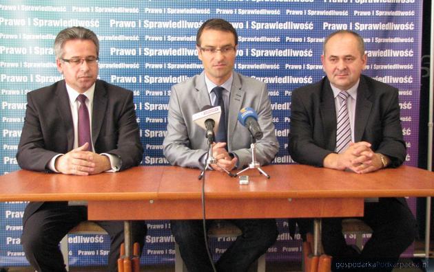 Od lewej Kazimierz Moskal, Tomasz Poręba i Zdzisław Pupa. Fot. Adam Cyło