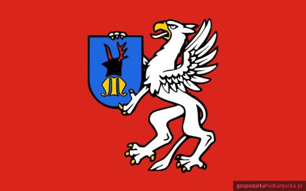 Flaga powiatu mieleckiego