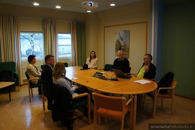 Jedno ze spotkań w Szwecji. Fot. EkoPrzestrzeń