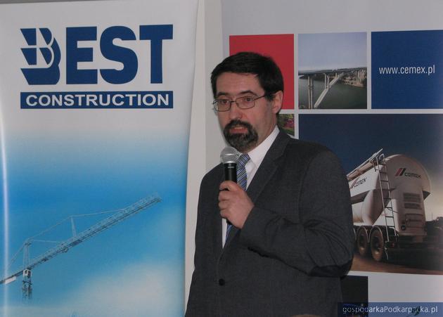 Dr inż. Lesław Hebda, rzeczoznawca budowlany. Fot. Adam Cyło