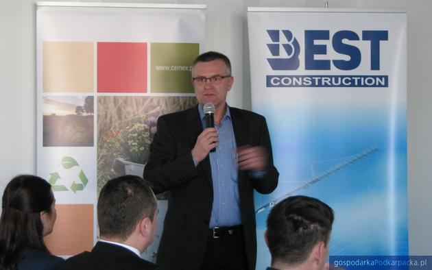 Jacek Pięta, prezes Best Construction. Fot. Adam Cyło