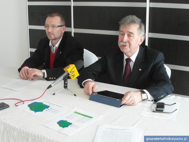 Od lewej Tomasz Kloc i Kazimierz Jaworski. Fot. Monika Myśliwiec