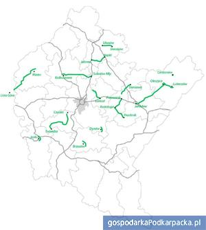 Najważniejsze inwestycje na drogach wojewódzkich proponowane do realizacji przez samorząd w ramach Regionalnego Programu Operacyjnego na lata 2014-2020