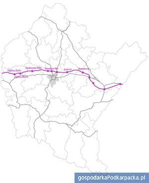 Inwestycje rekomendowane do realizacji w ramach Kontraktu Terytorialnego (POIiŚ) Łaczniki do węzłów autostradowych
