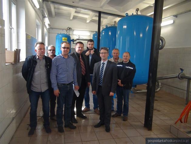 Modernizacji stacji uzdatnia wody w Głogowie Małopolskim