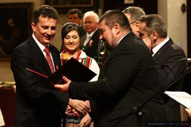 Paweł Krajmas (pierwszy z lewej), fot. ZM Jasiołka