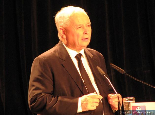 Jarosław Kaczyński. Fot. Adam Cyło
