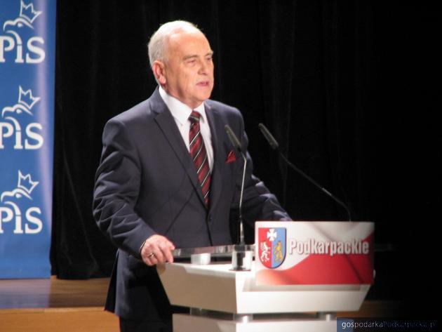 Andrzej Szlachta, kandydat na prezydenta Rzeszowa.