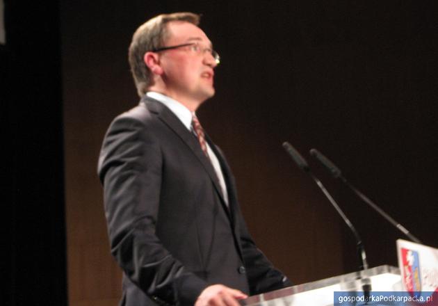 Zbigniew Ziobro, szef Solidarnej Polski. Fot. Adam Cyło