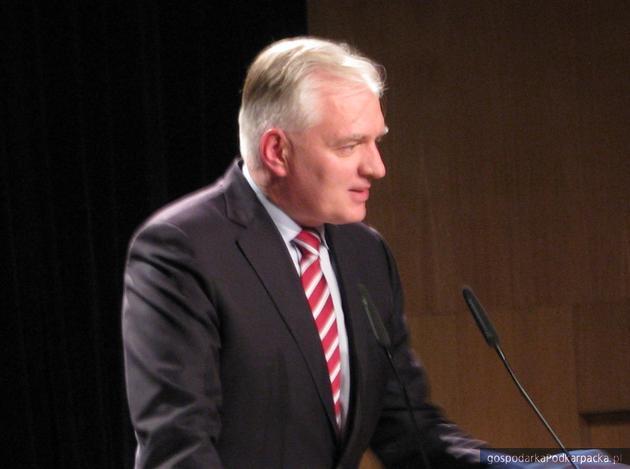 Jarosław Gowin, szef Polski Razem. Fot. Adam Cyło