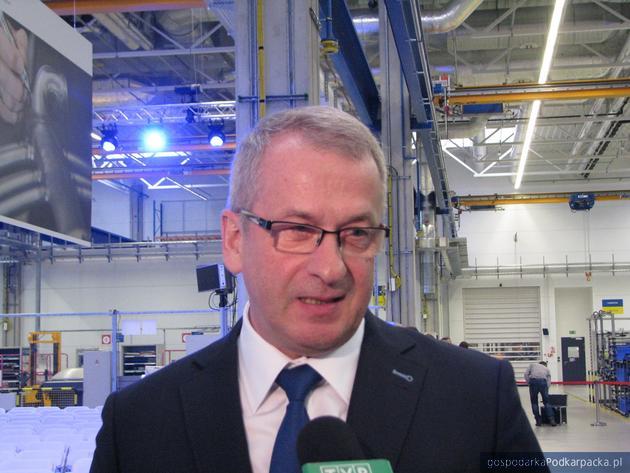 Prezes MTU Aero Engines Polska Krzysztof Zuzak. Fot. Adam Cyło