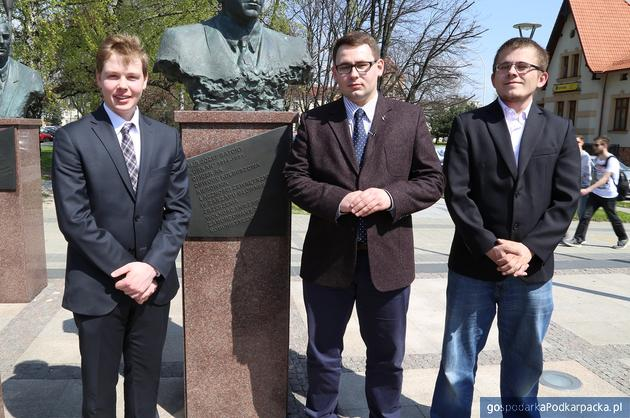 Od lewej Filip Bartman, Paweł Skoczowski i Jacek Sułuja. Fot. Archiwum